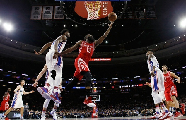 James Harden scores 51 as Rockets down Sixers to snap two-game skid and spoil Embiid's return from injury