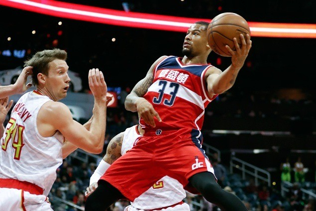 Wizards stretch streak to three and close in on Southeast Division-leading Hawks