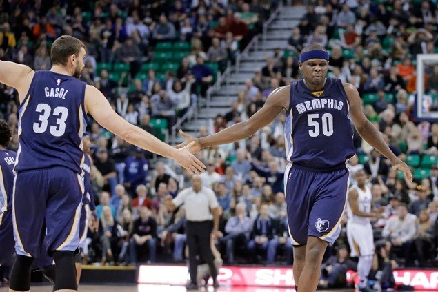 Zach Randolph scores season-high 28 to power Grizzlies past Jazz