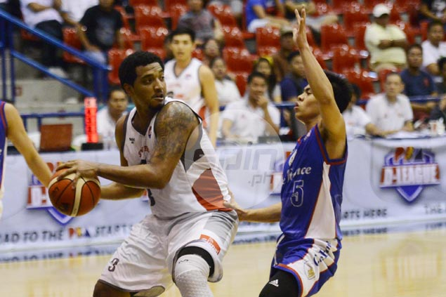 Jason Perkins joins San Beda core in D-League - years after nearly playing for NCAA school