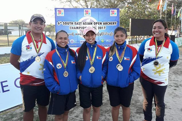 Pinay archer Kareel Meer Hongitan bags four gold medals in Southeast Asian Open