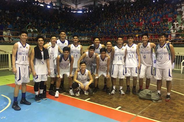 Magis Eagles squeak past UV Baby Lancers to force decider in Cebu NBTC finals