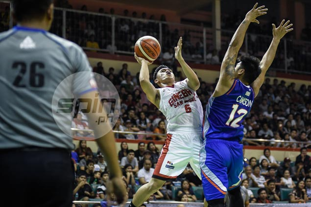 Do-it-all Scottie Thompson leaves quite an impression on former Ginebra coach