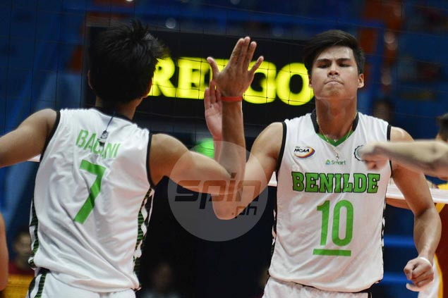 St. Benilde eases past Arellano and sets up NCAA volleyball title showdown with Perpetual Help