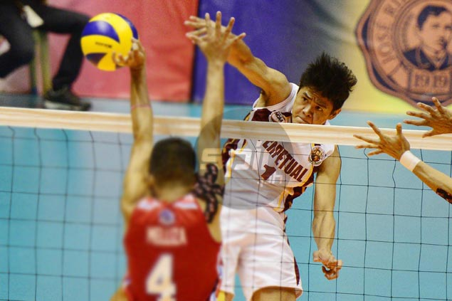 Perpetual Altas survive five-set scare from San Beda to reach NCAA volley finals | SPIN.ph