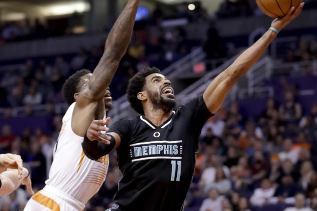 Mike Conley torches Phoenix for career-best 38 points as Grizzlies maul lowly Suns