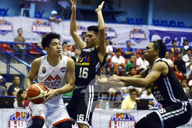 'Marked man' Jeron Teng confident first D-League loss just a bump in the road for AMA