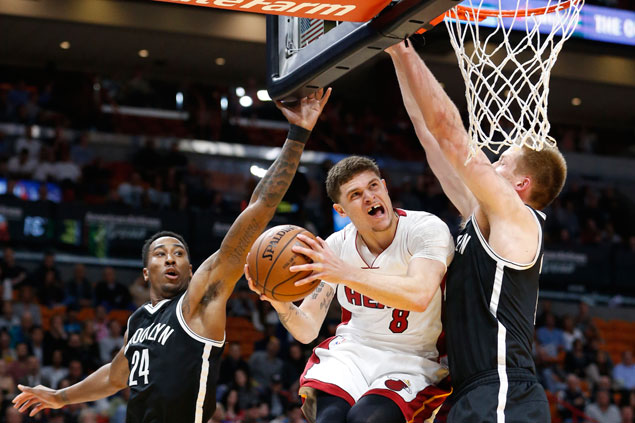 Heat stretch win streak to eight and send Nets to sixth straight loss