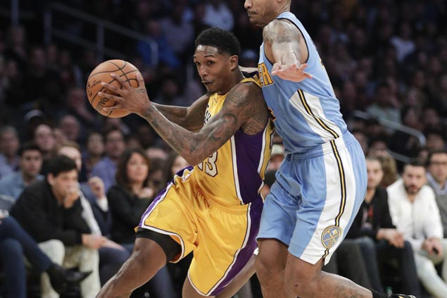 Lou Williams, Ivica Zubac lead late surge to lift Lakers past Nuggets and end three-game slide