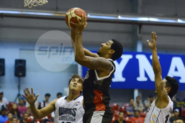 Jason Perkins double-double powers Cignal-San Beda past Wangs Basketball