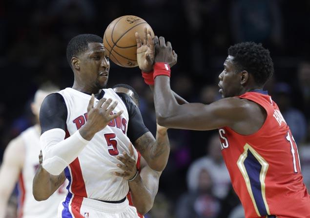 Kentavious Caldwell-Pope scores career-high 38 as Pistons down Pelicans