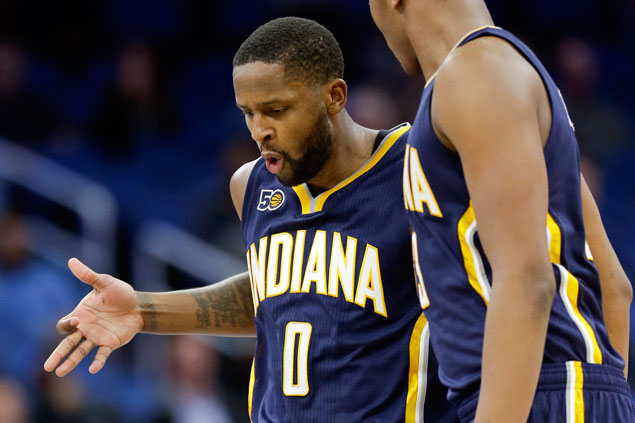 CJ Miles, Jeff Teague lead balanced offense as Pacers assert mastery of Magic