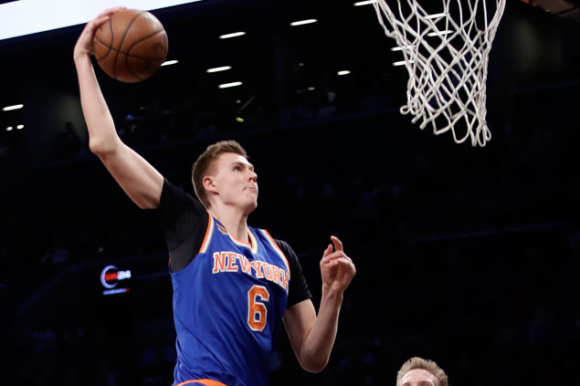 Kristaps Porzingis says Twitter account hacked after mysterious, deleted 'LA Clippers' tweet