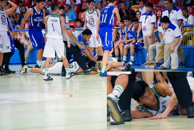 Controversial Rosete thrown out of UV Baby Lancers side for 'karate chop' hit