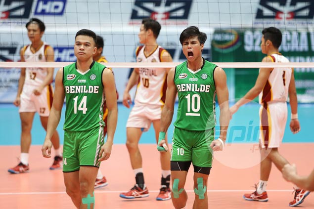 Johnvic de Guzman going for the kill in bid to put fittind end to Benilde career