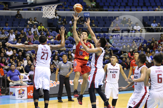 Rain or Shine finally shows killer's instinct to oust Blackwater, set up playoff vs SMB