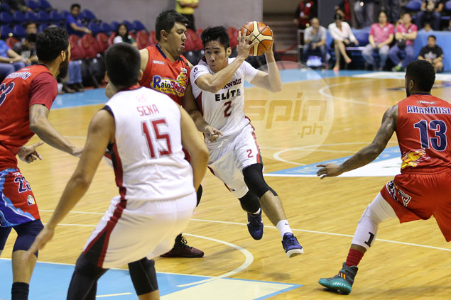 Mac Belo admits wear and tear simply caught up with him in PBA debut with Blackwater