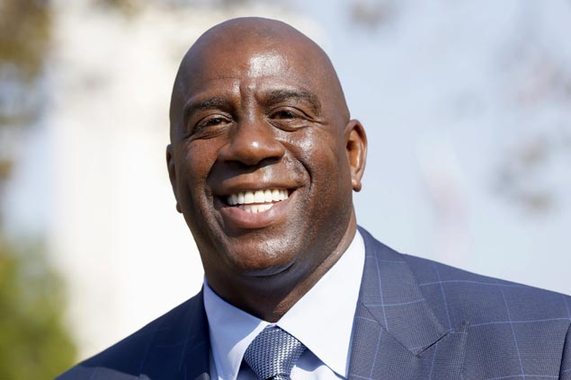 Magic Johnson returns to Lakers as adviser to owner Jeannie Buss on business and basketball