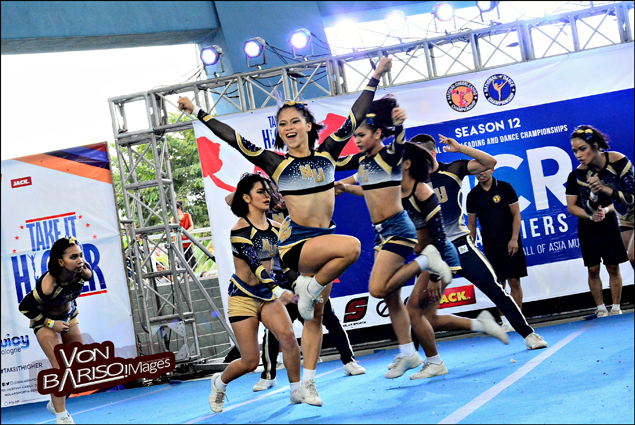 NU Pep Squad stays flawless in ruling NCC NCR qualifiers for fifth straight year