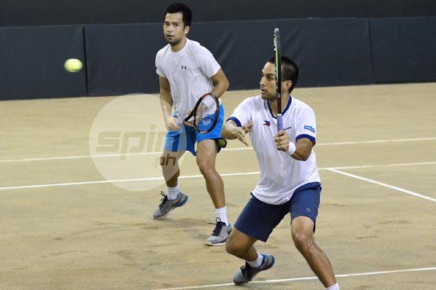Huey, Alcantara defeat Susanto, Sanu to give Philippines lead over Indonesia in Davis Cup Group II tie