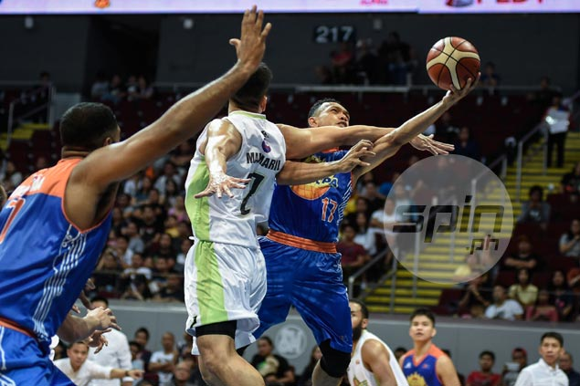 Jayson Castro satisfied with TNT defense for solid effort on GlobalPort gunners Romeo, Pringle