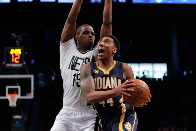 Pacers survive scare from Nets to stretch streak to five