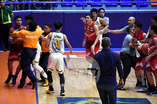UST Tiger Cubs' Final Four hopes in peril as bench-clearing brawl mars win over UE