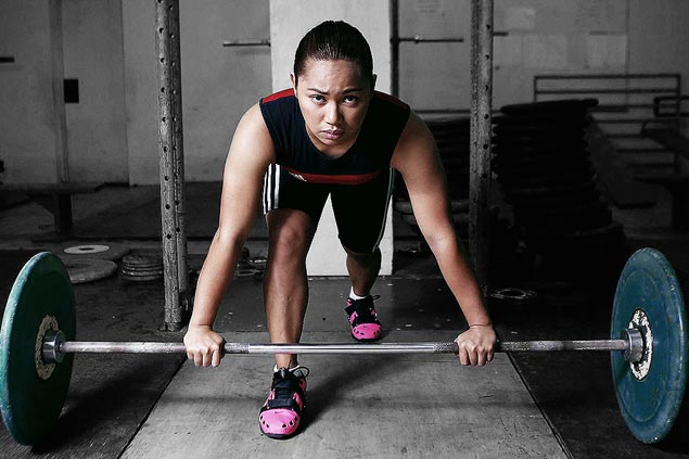 Rio Olympics silver medalist Hidilyn Diaz isSPIN.ph2016 Sportsman of the Year