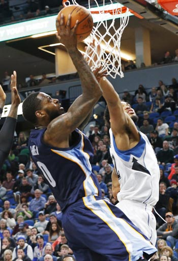 JaMychal Green scores career-high 29 as undermanned Grizzlies prove too much for slumping Wolves