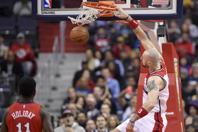 Wizards hold Pelicans scoreless in final six minutes to post seventh straight win