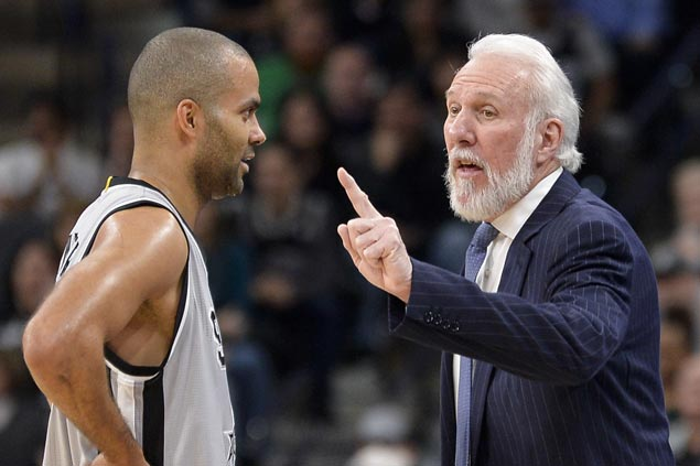 Big games from veterans Manu Ginobili, Tony Parker power Spurs past Nuggets