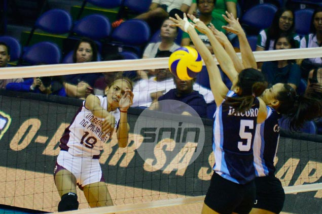 UP Lady Maroons off to a flyer in UAAP volleyball with emphatic win over Adamson
