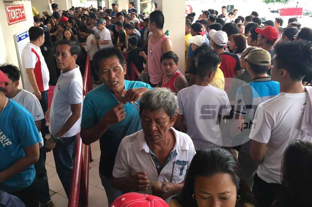 Tim Cone wish granted as fans come in droves to watch PBA double-header in Antipolo