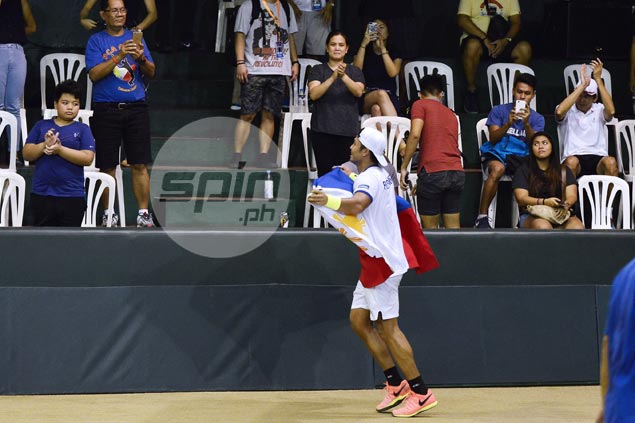 Ruben Gonzales delivers clincher as Philippines puts away Indonesia in Davis Cup tie