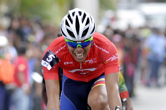 Ronda Pilipinas leader Rudy Roque finally living up to promise