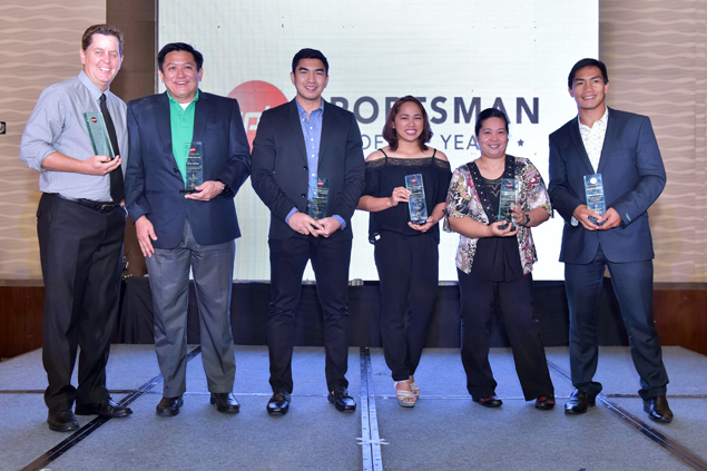 Hidilyn Diaz, sports heroes take spotlight in SPIN.ph awards night. See IMAGES