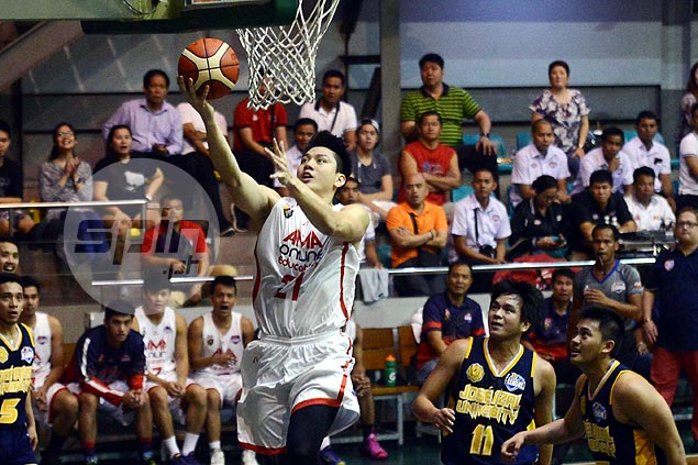 Jeron Teng drops 31 as AMA rallies past JRU to end two-game skid
