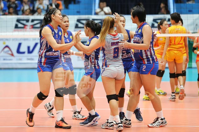 Arellano stuns San Sebastian in stunning start to NCAA women's volleyball finals