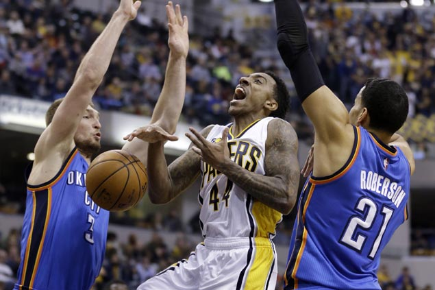 Pacers rally to beat Thunder and stretch streak to seven