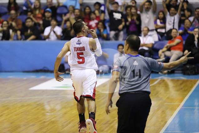 LA Tenorio caps career night with 'nganga' gesture, but quick to say sorry: 'Nadala lang'