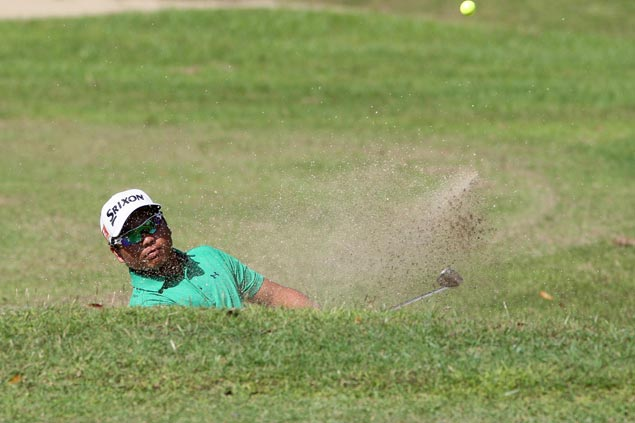 Ira Alido three strokes ahead of Jolo Magcalayo, Rupert Zaragosa after two rounds at Canlubang