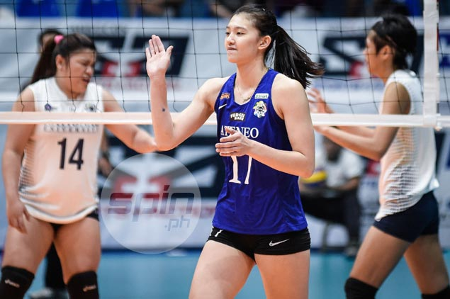 Birthday girl Maddie Madayag shrugs off failed bid for double celebration after Ateneo defeat