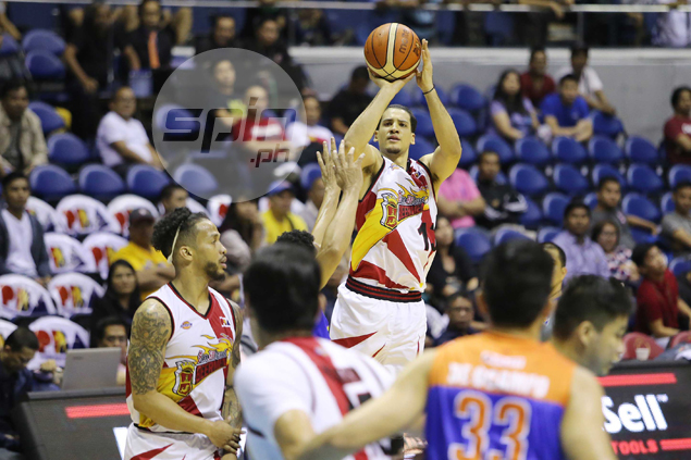 Red-hot San Miguel makes it 11 wins in row after breezing past TNT in semis opener