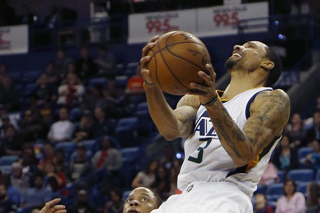Joe Johnson, George Hill show way as Jazz make it four straight wins with rout of Pelicans