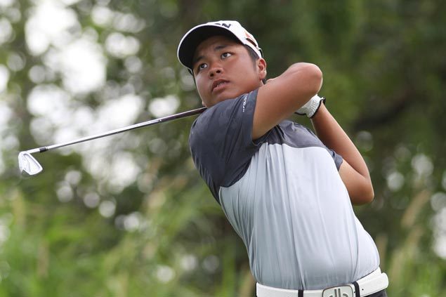 Ira Alido fires eagle-aided 69 for a two-stroke lead heading into final round at Canlubang