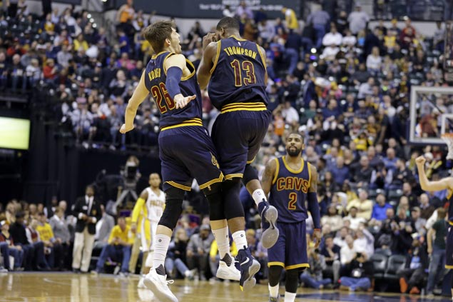 Kyle Korver scores season-high 29, hits eight triples as Cavaliers end Pacers' win run at seven