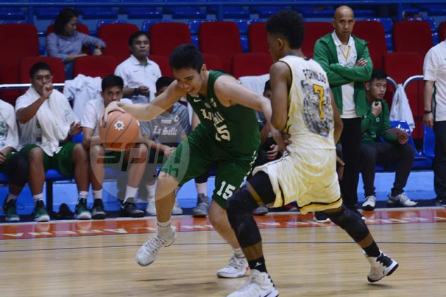 Joaqui Mariano powers De La Salle-Zobel past UST and into Final Four of UAAP Jrs basketball