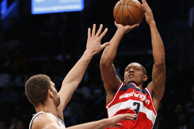 Bradley Beal, Otto Porter Jr come up clutch in OT as Wizards send Nets to 11th straight loss
