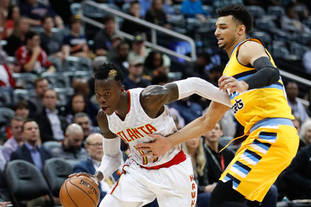 Atlanta Hawks waste huge early lead but hold on to beat Denver Nuggets