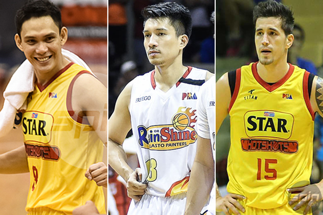 Marc Pingris, PJ Simon bare thoughts entering first Star-Ginebra playoff without James Yap
